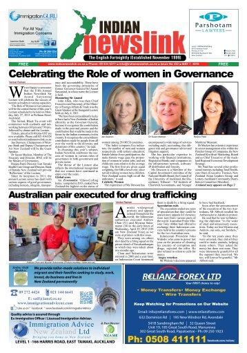 Indian Newslink May 1, 2015 Digital Edition