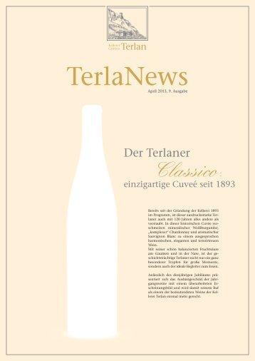 TerlaNews 2013 - Cantina Terlano