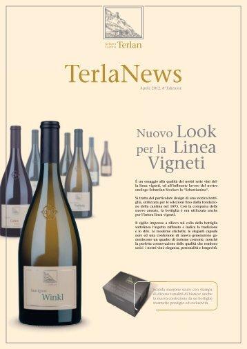TerlaNews 2012 - Cantina Terlano