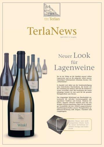 TerlaNews 2012 | Fotos downloaden - Cantina Terlano