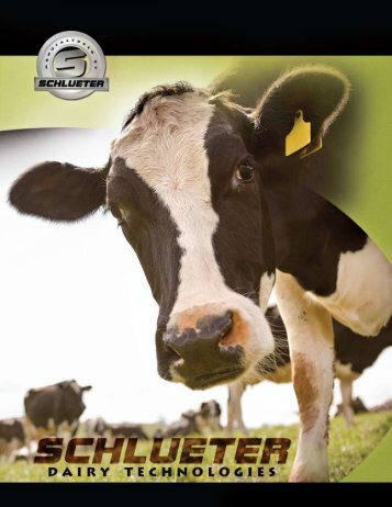 Download the Full PDF Catalog - Schlueter Dairy Technologies