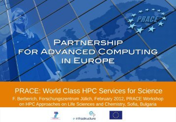 PRACE: World Class HPC Services for Science