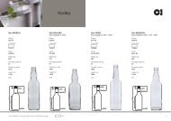 European Vodka Products Catalogue
