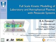 Full Scale Kinetic Modelling of Laboratory and Astrophysical ... - prace