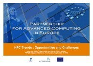 HPC Trends : Opportunities and Challenges - prace