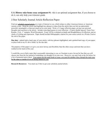 reflection paper on article Reflection paper examples when writing a reflection paper especially for the first time, good reflection paper examples can be really helpful a reflection paper is a paper that allows you.