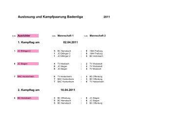 Badenliga incl Blattschutz 2011 neu - Badischer Judo-Verband