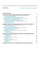 NMC Horizon Report > 2014 Higher Education Edition - Page 3