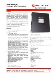 2-Zone Fire Alarm Control Panel