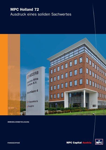 MPC Holland 72 Ausdruck eines soliden Sachwertes
