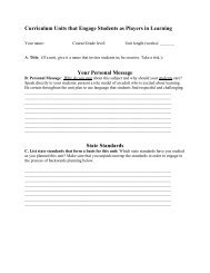 0000068967-Unit Planning and Lesson Planning Template 2012