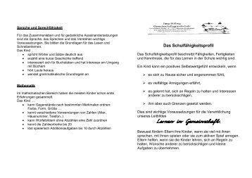 Lernen in Gemeinschaft - Grundschule Kredenbach
