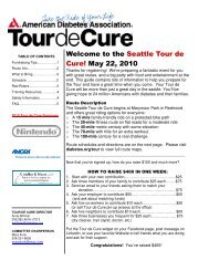 Local Guide - Tour de Cure