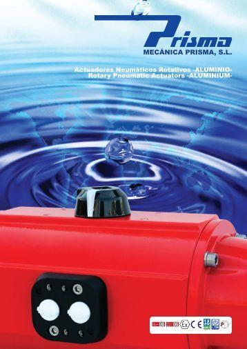 Actuadores Neumáticos de Aluminio - Prisma