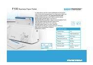 F100 Business Paper Folder