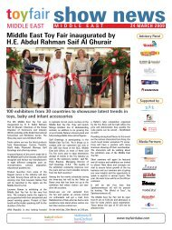 Middle East Toy Fair inaugurated by H.E. Abdul Rahman Saif Al ...