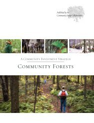 Community Forests - Northern Forest Center