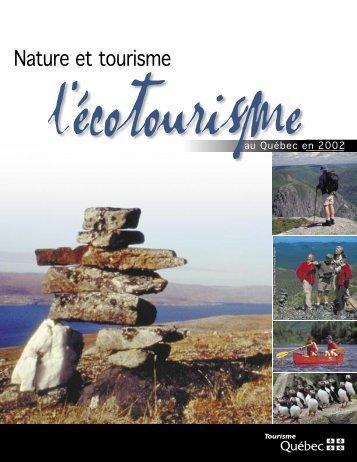 Rapport - Tourisme Québec - Gouvernement du Québec
