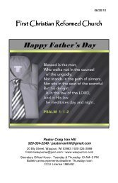 Happy Father's Day - Waupuncrc.com