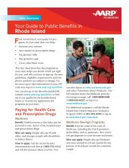 Your Guide to Public Benefits in Rhode Island - State of Rhode ...