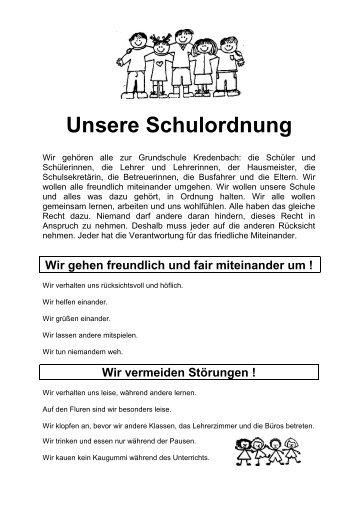 Unser Schulvertrag - Grundschule Kredenbach