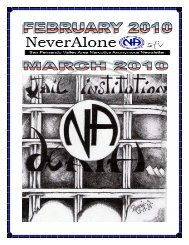 2010-Feb-Mar - San Fernando Valley Area of Narcotics Anonymous