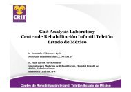 Gait Analysis Laboratory Centro de Rehabilitación Infantil Teletón ...