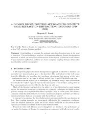 a domain decomposition approach to compute wave ... - Fyper