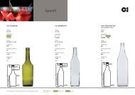 European Aperitif Products Catalogue