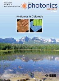 PDF of October Issue - IEEE Photonics Society