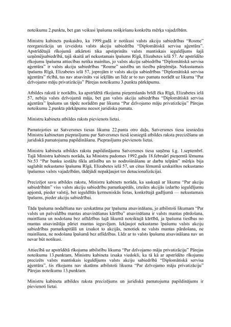 Latvijas Republikas Satversmes tiesas sēdes stenogramma Lieta Nr ...
