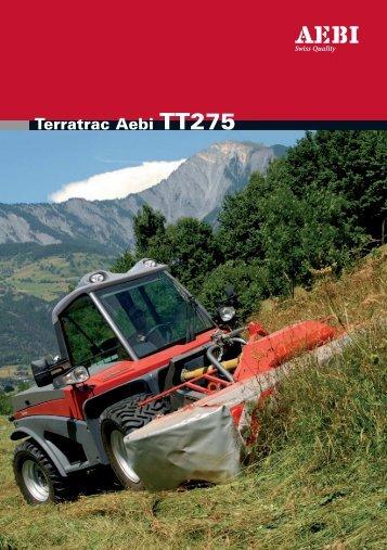 Terratrac Aebi TT275
