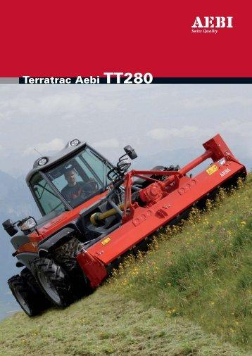 Terratrac Aebi TT280