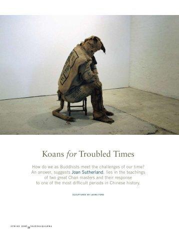 Koans for Troubled Times - Awakened Life