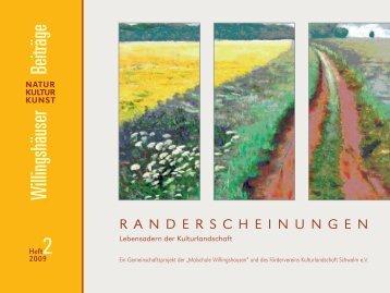 RANDERSCHEINUNGEN - Ulrike Schulte
