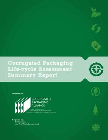 LCA Summary Report - Corrugated Packaging Council