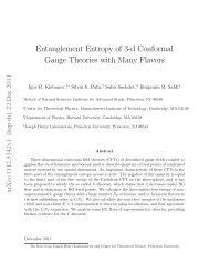 Entanglement Entropy of 3-d Conformal Gauge Theories with Many ...