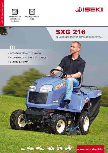 ISEKI SXG 216 prospektus (magyar)