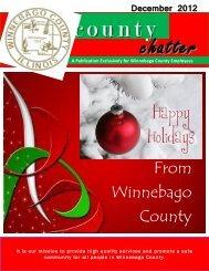 December 2012 County Chatter - Winnebago County, Illinois