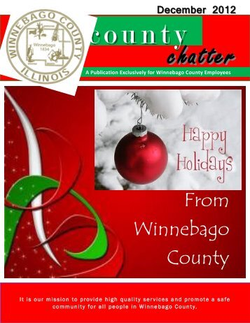 December 2012 County Chatter - Winnebago County, Illinois