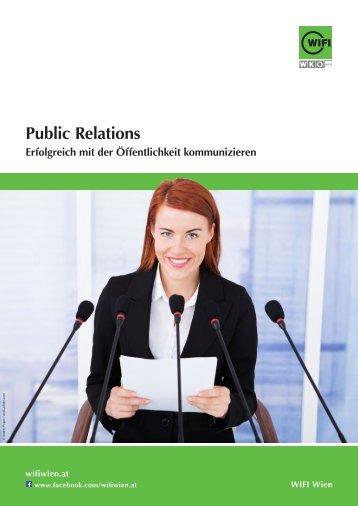 Public Relations - Ausbildungen im WIFI Wien