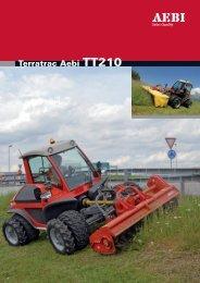 Terratrac Aebi TT210