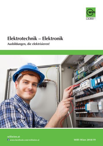 Elektrotechnik – Elektronik - Ausbildungen im WIFI Wien