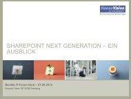 SharePoint 2013 Next Generation - HanseVision Blog