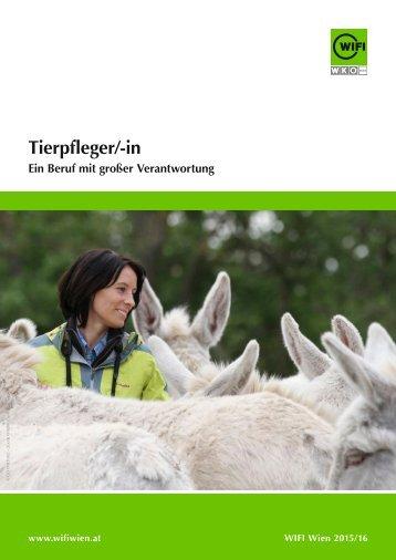 Tierpfleger/-in - Ausbildungen im WIFI Wien