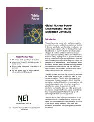 Global Nuclear Power Development: Major Expansion Continues