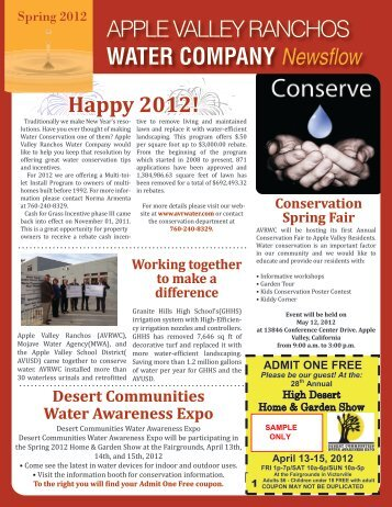 Download the Spring 2012 Newsletter - Apple Valley Ranchos ...