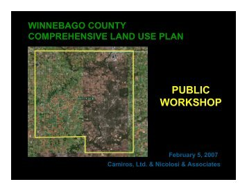 overview of the Findings Memo - Winnebago County, Illinois