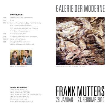 galerie der moderne
