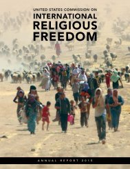 USCIRF Annual Report 2015 (2)
